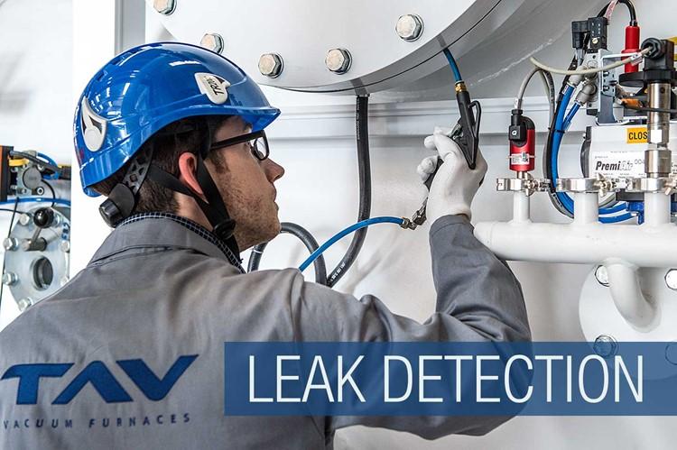Maintenance procedures: leak detection in vacuum furnaces