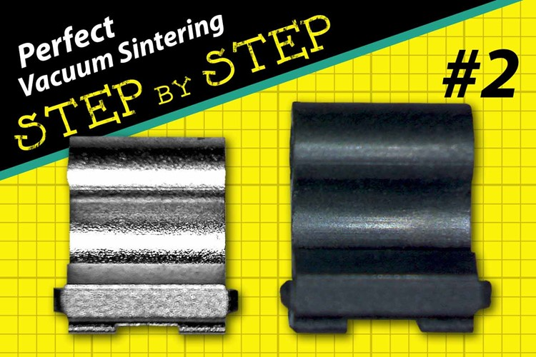 Perfect vacuum sintering step by step #2
