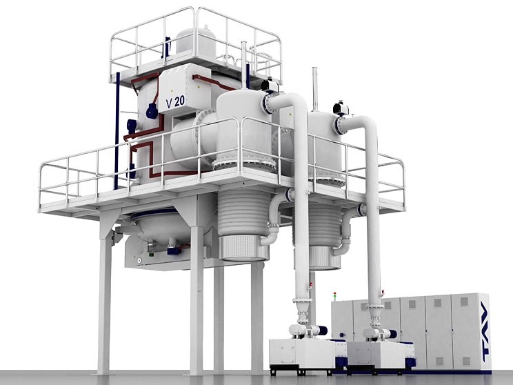 Vertikale Vakuumöfen Top-oder Bodenladesystem