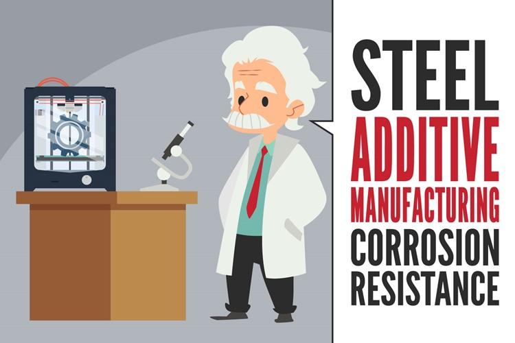 Manifattura additiva dell'acciaio: studio sulla resistenza a corrosione