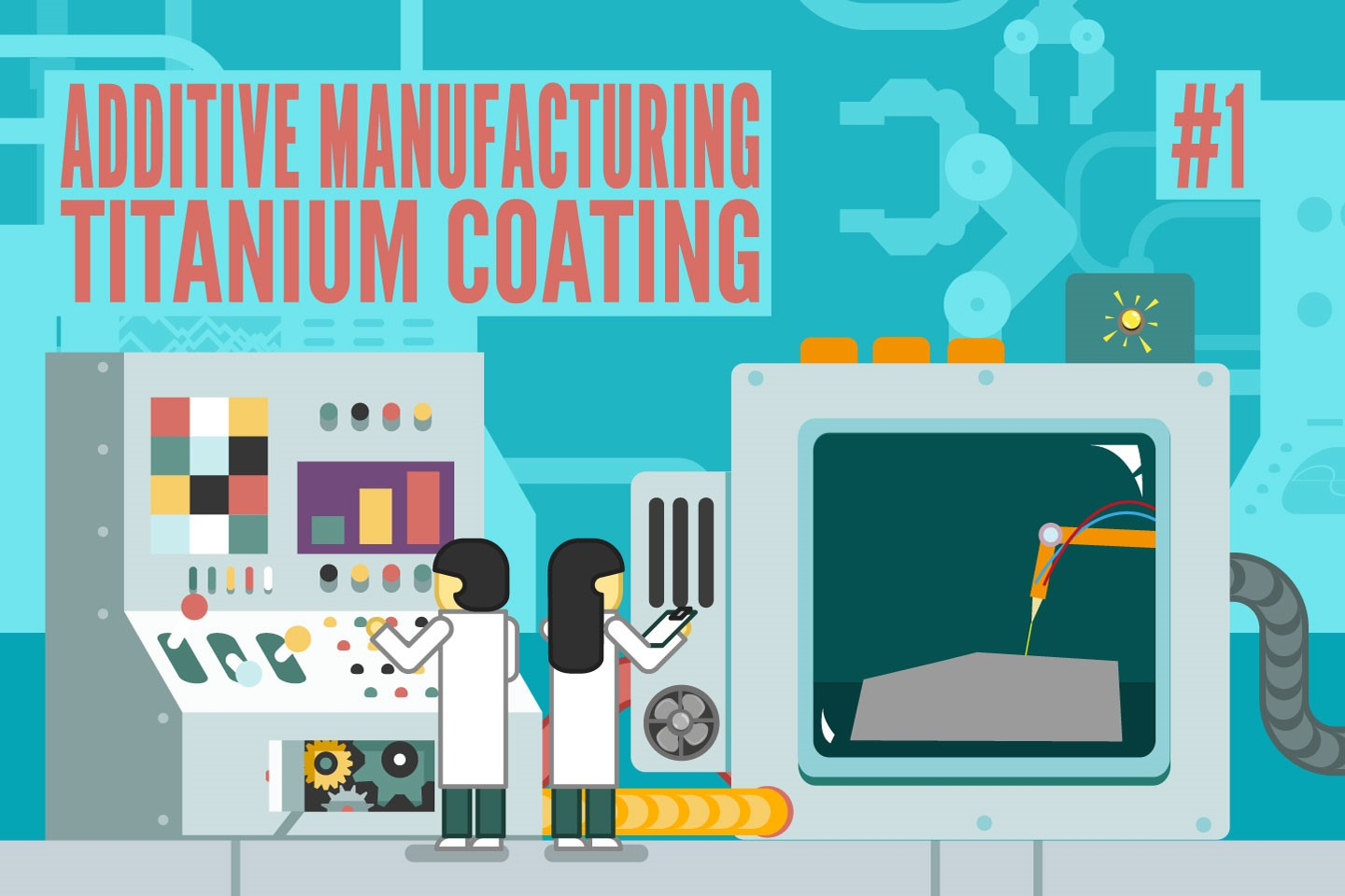 Learn all about coating the additive manufactured Titanium64 [1/2]