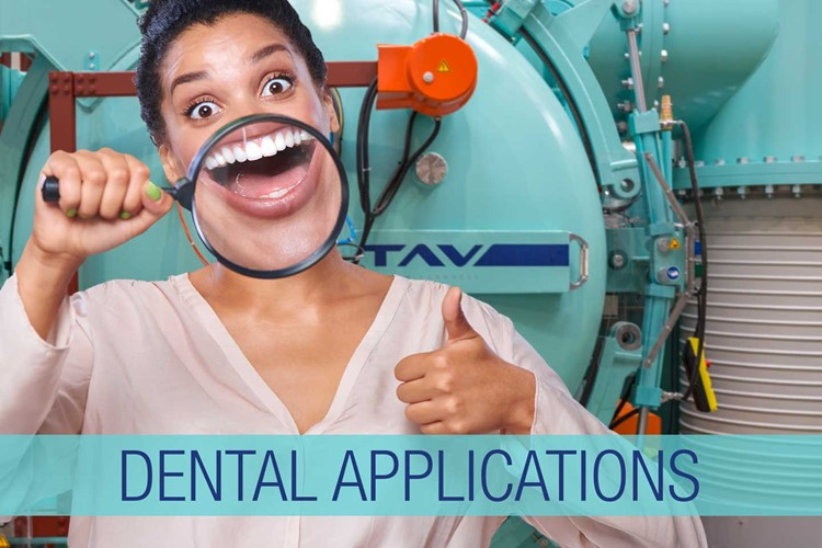 Medical-dental applications: 3 benefits of vacuum heat treatments applied to 3D printing