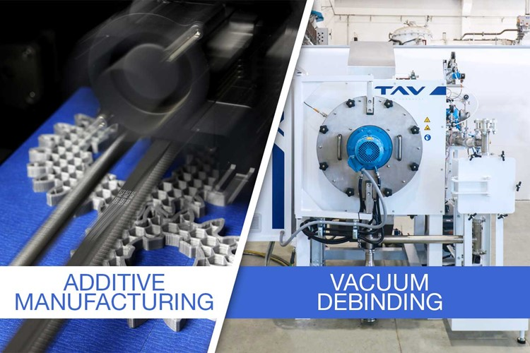 How to properly debind parts produced by metal additive manufacturing