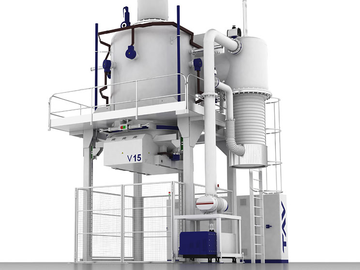 Vertical vacuum furnaces Top or bottom load